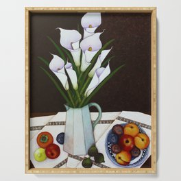 Still life with Callas Serving Tray