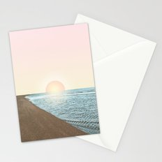 Untypical sunset Stationery Cards