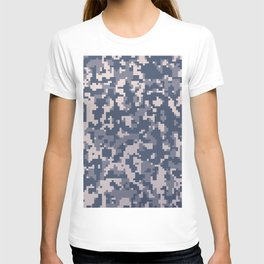 Winter Pixelated Camoflage T-shirt