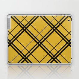 Hufflepuff Argyle Laptop & iPad Skin