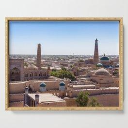 Khiva, Uzbekistan Serving Tray