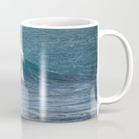 surfer Mugs featuring Surfer by MapMaster