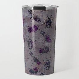 violet bugs Travel Mug