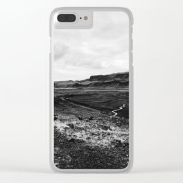 Desolate World Clear iPhone Case