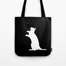 Laser Kitty Tote Bag