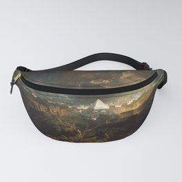 The Fifth Plague of Egypt (1800) J.M.W. Turner Fanny Pack