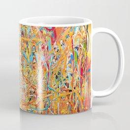 Orange Composition Coffee Mug
