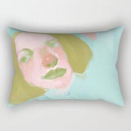 Unidentified Humans VIII Rectangular Pillow