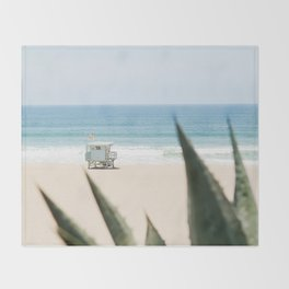 Manhattan Beach California Throw Blanket