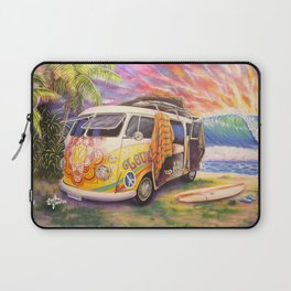 Hippie Surfer Life Laptop Sleeve