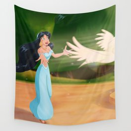 To Be Free Wall Tapestry
