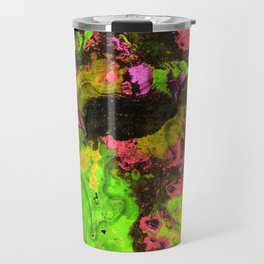 Rasta River Flow (Alcohol Inks Series 06) Travel Mug