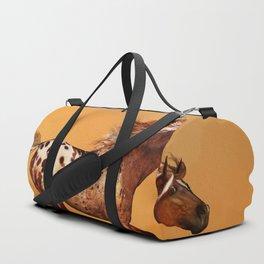 HORSE - An Appaloosa called Ginger Duffle Bag