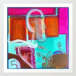 Speed Racer #5 Art Print
