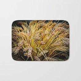 Ears Of Wheat. Thanksgiving theme Bath Mat