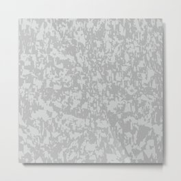 Zinc Plate Background Metal Print