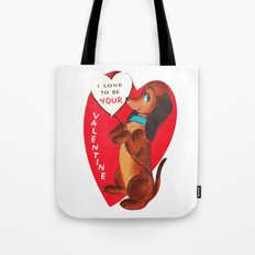 I Long to be Your Valentine Tote Bag