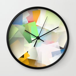 Cubism Abstract 188 Wall Clock