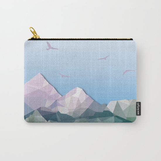 Night Mountains No. 35 Carry-All Pouch