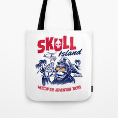 Skull Island Helicopter Adventure Tours Tote Bag