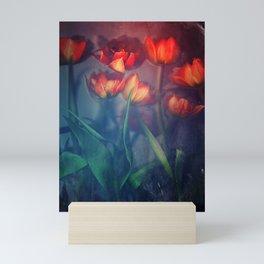 Orange Tulips Mini Art Print
