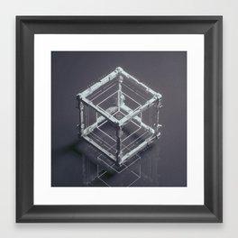 LEARNCUBED (everyday 06.01.17) Framed Art Print