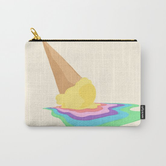 Melted Carry-All Pouch