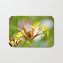 Pastel Meadow Bath Mat