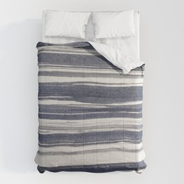 Brush stroke stripes Comforters