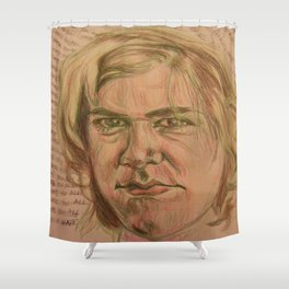 Ariel Pink Hates You All Shower Curtain