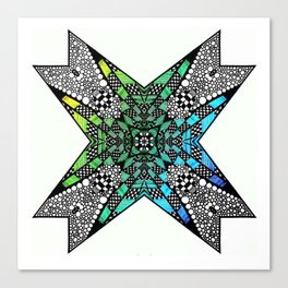 [octagon tunnel] Canvas Print