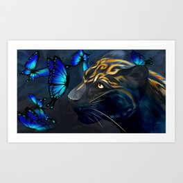 Beautiful Beast Art Print
