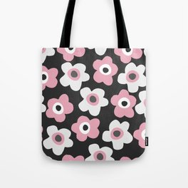 White and pink flowers Tote Bag
