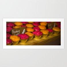 Wedding Cupcakes Art Print
