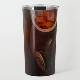 Fire in the eyes Travel Mug
