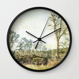 Losing a Part of Oneself Wall Clock