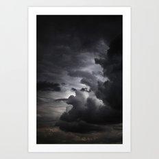 Gloomy Sky 0003 Art Print