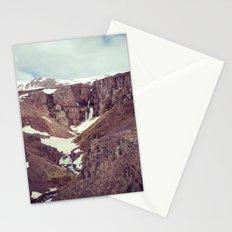 backyard waterfall Stationery Cards