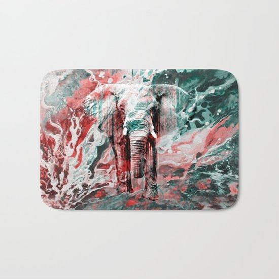 Elephant's Silent Cries  Bath Mat