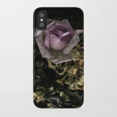 Rose 3 iPhone X Slim Case