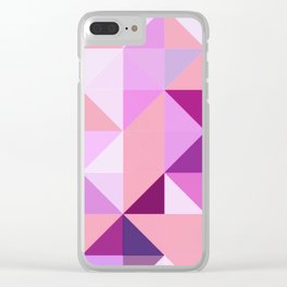 Apex geometric III Clear iPhone Case