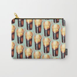 Root Beer Float Pattern Carry-All Pouch