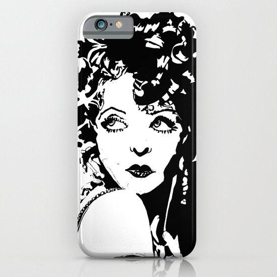 Clara Bow iPhone & iPod Case