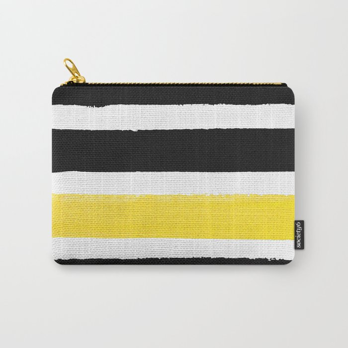 Watercolour Yellow Pop Carry-All Pouch