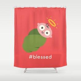 Divine Instavention Shower Curtain