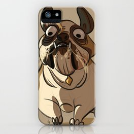 Leone the British bulldog iPhone Case