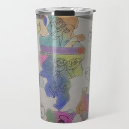 it's an art world Travel Mug