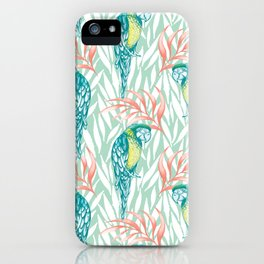Tropical Pastels iPhone Case