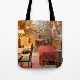 Al Capone's Luxurious Prison Cell Tote Bag