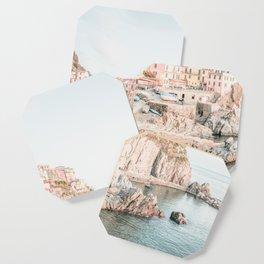 Positano, Italy Amalfi Coast Romantic Photography Coaster